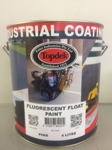 Fluorescent Float Paint Austal Pink